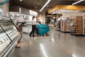 Autolaveuse supermarché