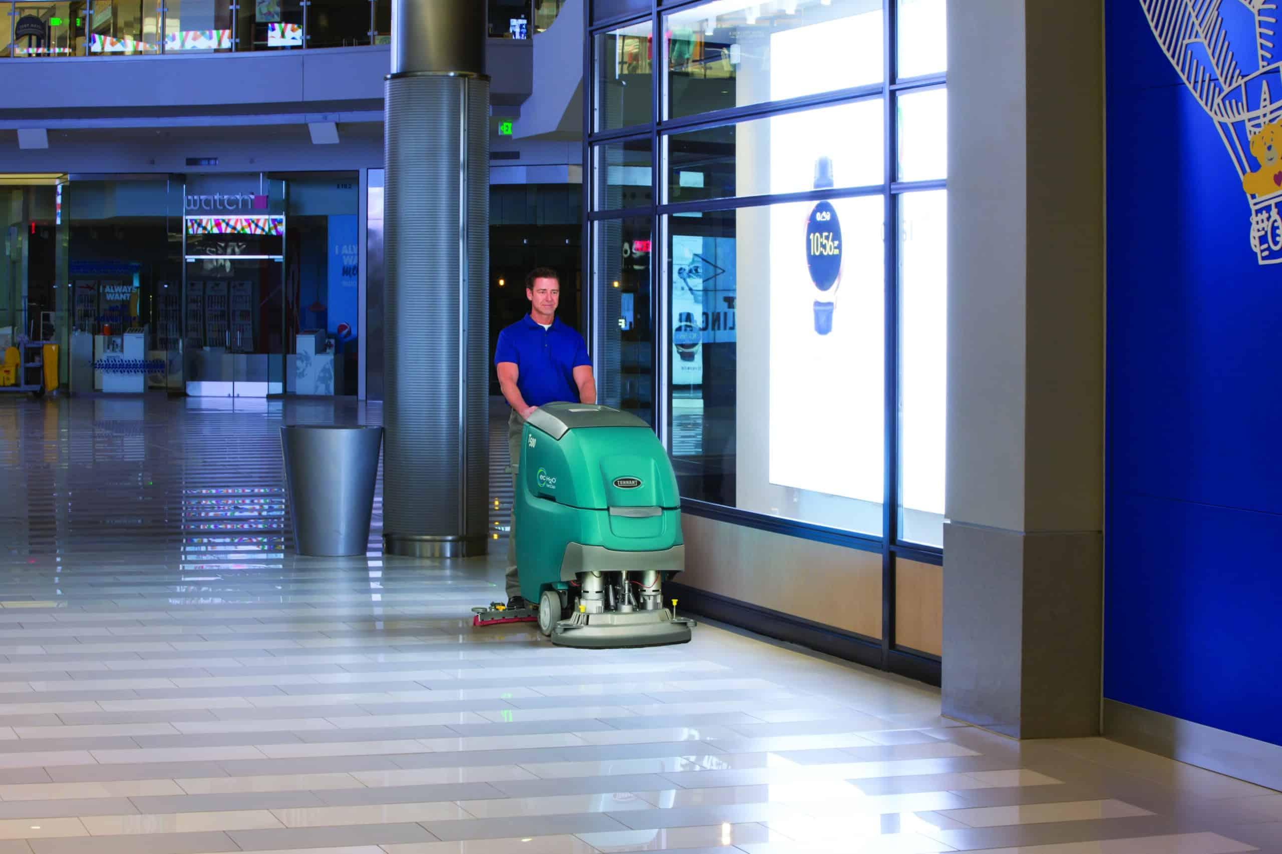 machine de nettoyage industriel T500