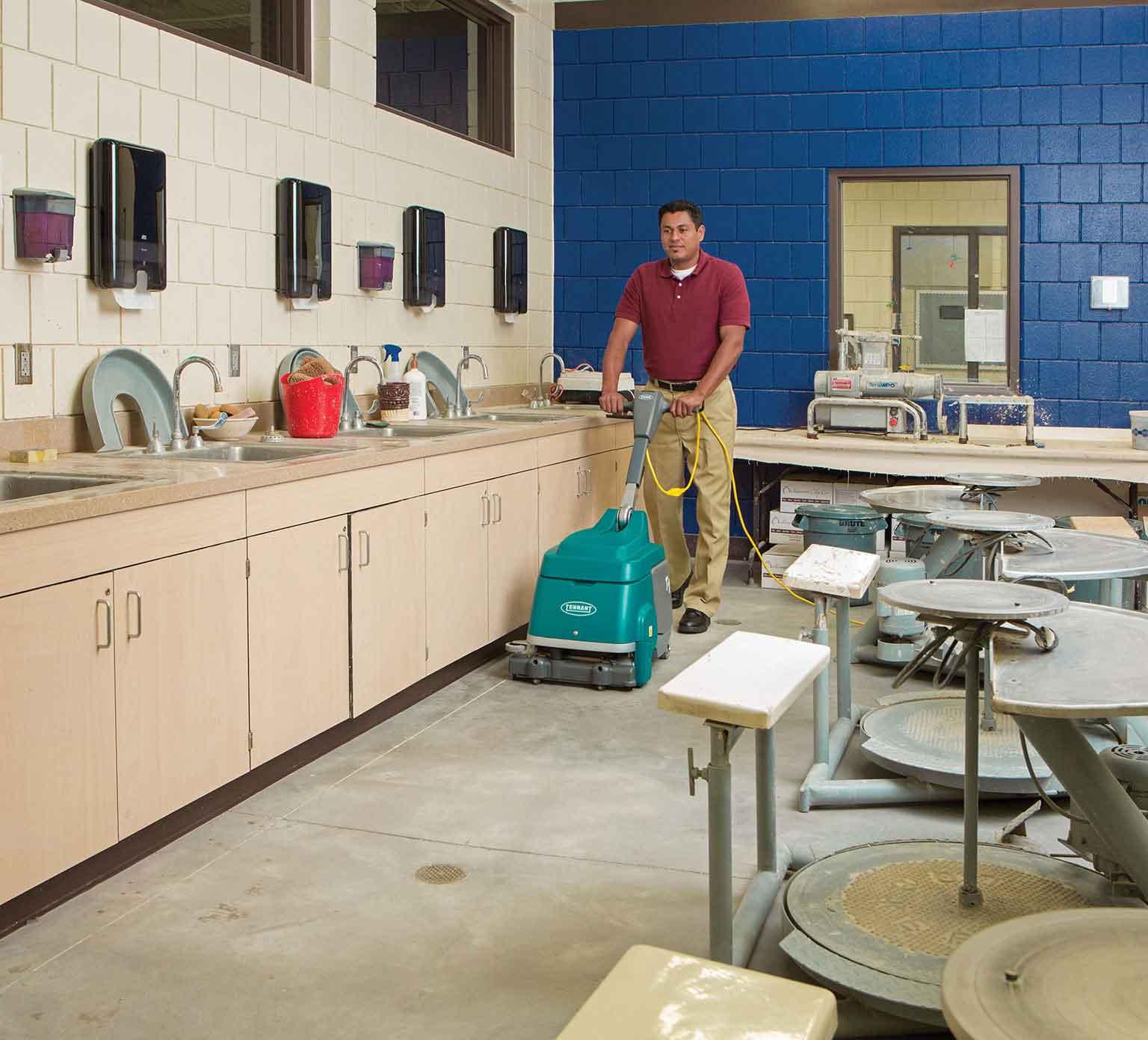 matériel de nettoyage professionnel d'occasion
