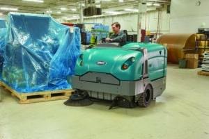 matériel de nettoyage professionnel autoporté S30